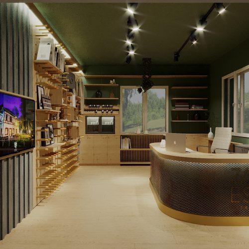 Zabola Estate shop